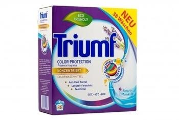 Концентрированный стиральный порошок Triumf Color Protection для цветных тканей, 2,8 кг Triumf
