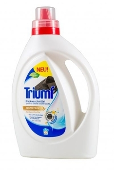Концентрированный гель Triumf Blackwaschmittel для цветных тканей, 1 л Triumf