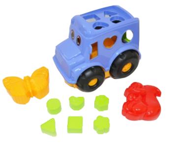 Набор для песочницы Simba Автобус, синий (713 4118/2071) Simba