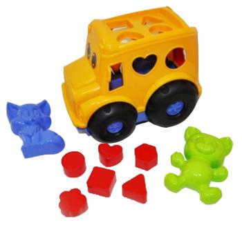 Набор для песочницы Simba Автобус, желтый (713 4118/2071) Simba