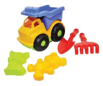 Набор для песочницы Simba Строитель, желтый (713 1672/2095) Simba
