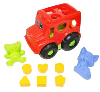 Набор для песочницы Simba Автобус, красный (713 4118/2071) Simba