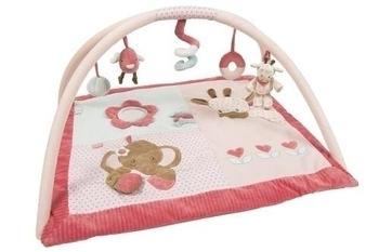 Купить со скидкой Развивающий коврик с дугами Nattou Шарлота и Рози (655224)
