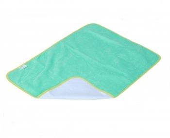Многоразовая пеленка ЭКО ПУПС Premium (трикотаж), зеленый, 50x70 см ЭКО ПУПС