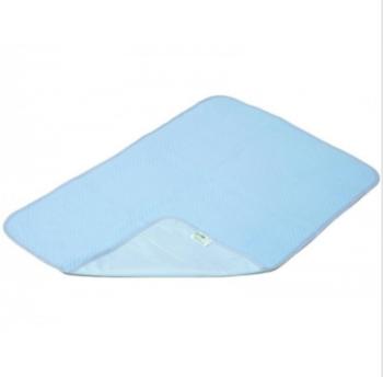 Многоразовая пеленка ЭКО ПУПС Premium (трикотаж), синий, 50x70 см ЭКО ПУПС
