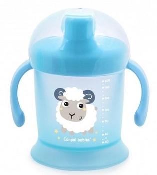 Чашка-непроливайка Canpol babies Улыбка, 200 мл, голубой (31/300) Canpol babies