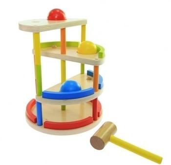 Купить Развивающие игрушки, Сортер Goki Трекбол с молотком (53901)