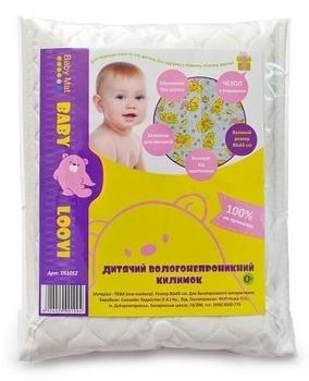 Клеенка для пеленания и сна Loovi KinderenOK, 80х60 см KinderenOK