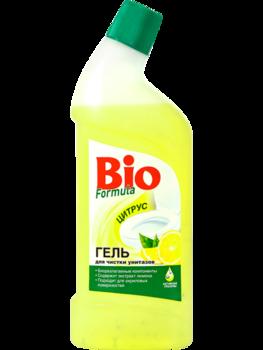 bio formula Гель для чистки унитазов Bio Formula Цитрус, 1 л