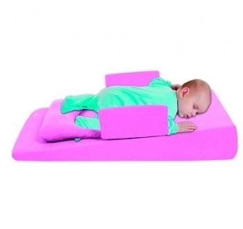 sevi bebe Многофункциональный матрасик для новорожденных Sevi bebe с грелкой, розовый (9021)