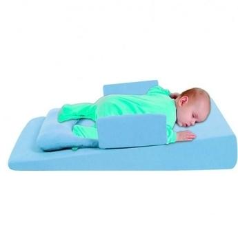 sevi bebe Многофункциональный матрасик для новорожденных Sevi bebe с грелкой, голубой (9021)
