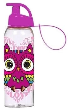 Бутылочка для спорта Herevin Owl Сова, фиолетовый, 0,5 л (161415-150 ... d185bb760db