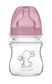 Купить Бутылочки и соски, Антиколиковая бутылочка Canpol babies Easystart Little Cutie, 120 мл (35/218 Розовый)
