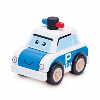 Машинка Wonderworld Build Полицейская машина (WW-4072)