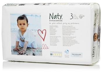 964632bf24f6 ЭКО Подгузники Naty 3 (4-9 кг), 52 шт.   Купить в интернет-магазине ...