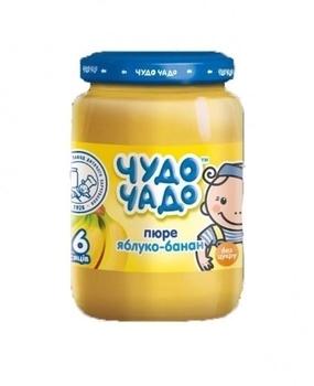 0607efd8cd2d5f Пюре Чудо-чадо Яблоко и банан, без сахара, 170 г | Купить в интернет ...