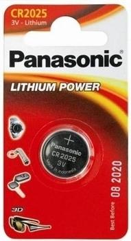 Батарейка Panasonic CR 2025 Bli 1 Lithium (CR-2025EL/1B)