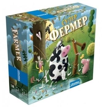Купить Настольные игры и опыты, Настольная игра Granna Суперфермер, мини-версия (81862)