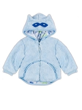 smil Куртка Smil Любимым малышам, микроплюш, р.80, голубой (116178)