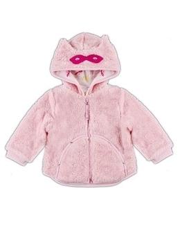 smil Куртка Smil Любимым малышам, микроплюш, р.80, розовый (116178)