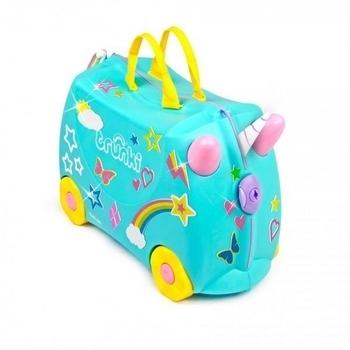 8b8e0cec6c6b Детский чемодан для путешествий Trunki Una the Unicorn (0287-GB01-UKV) -