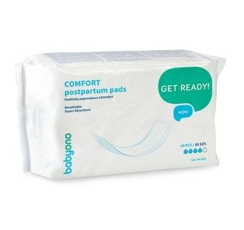 babyono Прокладки послеродовые BabyOno Comfort, 10 шт. (502)