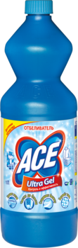 ace Отбеливатель жидкий ACE Gel AutomatUltra, 1л 2702242