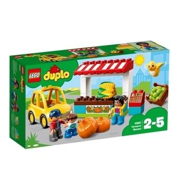 Купить со скидкой Конструктор LEGO DUPLO Рынок, 26 деталей (10867)