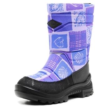 Купить Детская обувь, Зимние сапоги Kuoma Путкиварси Лиловое Сердце, р.32, фиолетовый (120356-5674), Фиолетовый
