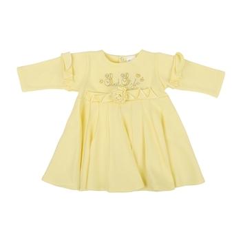 royal infant Платье Royal Infant Сладкий стиль, интерлок, р.62, желтый (1182)