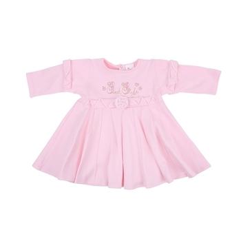 royal infant Платье Royal Infant Сладкий стиль, интерлок, р.62, розовый (1182)