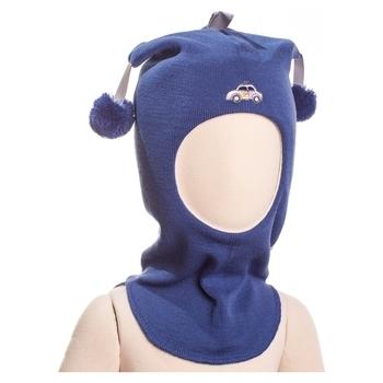 Купить Головные уборы, Шапка-шлем Kivat Police car, р.2, синий (455-62), Синий, Шерсть