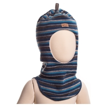 375da898fe2daa Шапка-шлем Kivat Striped, р.3, синий в полоску (516-64) | Купить в ...