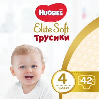 Трусики-подгузники Huggies Elite Soft Pants Mega 4 (9-14 кг), 42 шт ... 08e56c37e89