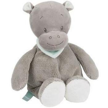 Купить Мягкие игрушки, Мягкая игрушка Nattou Гиппопотам Ипполит, 24 см (963022)