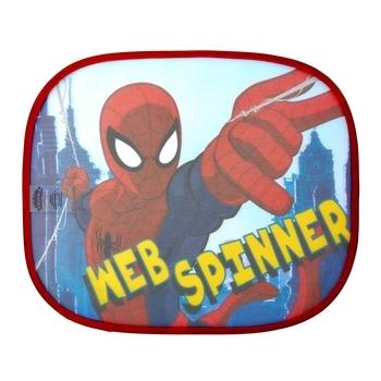 Купить Аксессуары для авто, Солнцезащитная шторка для авто Disney Человек-паук, красный, 2 шт. (SM11538)