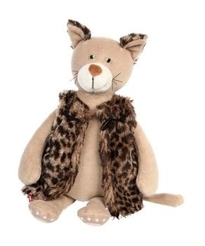 Купить Мягкие игрушки, Мягкая игрушка Sigikid Котик в жупане, 36 см (38780SK), Бежевый