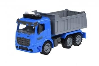 Купить Игрушечный транспорт, Машинка Same Toy Truck Самосвал, со светом и звуком, синий (98-611AUt-2)