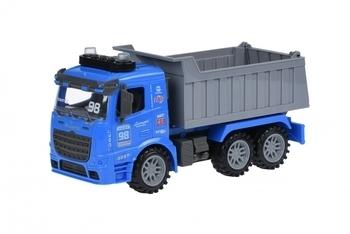 Купить Игрушечный транспорт, Самосвал Same Toy Truck, со светом и звуком, синий (98-614AUt-2)