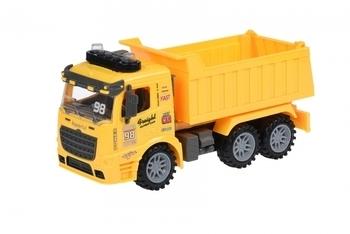Купить Игрушечный транспорт, Самосвал Same Toy Truck, со светом и звуком, желтый (98-614AUt-1)