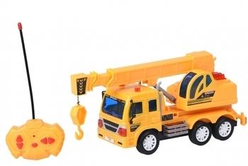 Купить Игрушечный транспорт, Машинка на радиоуправлении Same Toy City Кран (F1604Ut)