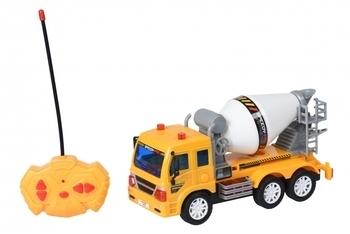 Купить Игрушечный транспорт, Машинка на радиоуправлении Same Toy City Бетономешалка (F1602Ut)