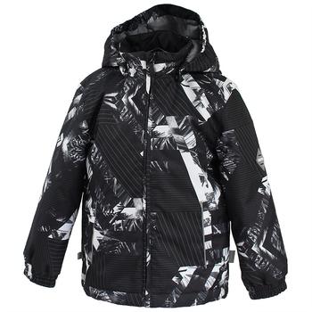 Купить Верхняя одежда, Куртка Huppa Jody, р.128, черный (17000010-82309), Черный