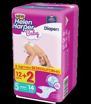 df3f8331185b Подгузники Helen Harper Baby Junior 5 (11-25 кг) 14 шт.   Купить в ...