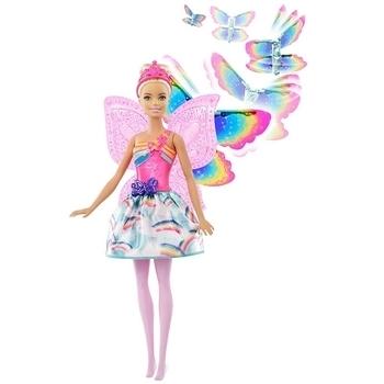 Купить со скидкой Кукла Barbie Фея Летающие крылышки (FRB08)