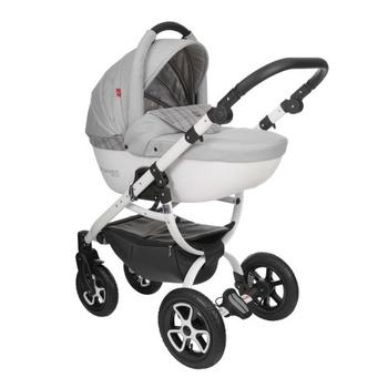 Купить со скидкой Универсальная коляска 2 в 1 Tutek Grander Play Plus Gplus ECO1/B, светло-серый (20265)