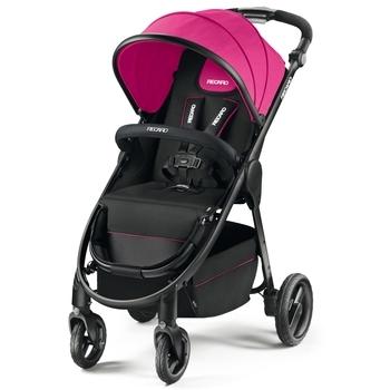Купить Детские коляски, Прогулочная коляска Recaro CityLife Black, малиновый с черным (5650.21211.66), Германия