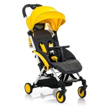 Купить Детские коляски, Прогулочная коляска Babyhit Amber Plus Yellow Black, желтый с черным (30 166), Китай, Желтый