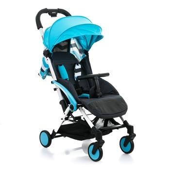 Купить Детские коляски, Прогулочная коляска Babyhit Amber Plus Blue Black, голубой с черным (30 164), Китай, Голубой