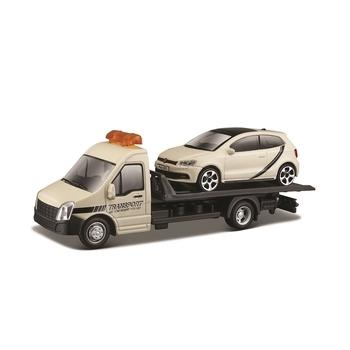 Игровой набор Bburago Автоперевозчик c автомоделью VW Polo GTI Mark 5 (18-31403)